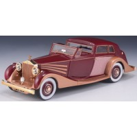 ROLLS ROYCE Phantom 3 Sedanca DeVille, 1937, copper/maroon