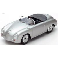 PORSCHE 356 Speedster Carrera, silver