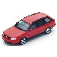 AUDI S6 Avant, 1994, red