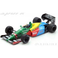 BENETTON B188 GP GreatBritain'88 #19, 3rd A.Nannini