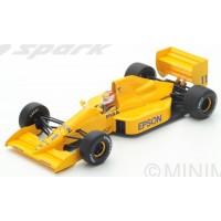 LOTUS 101 GP GreatBritain'89 #11, N.Piquet