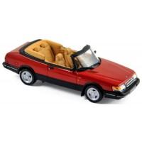SAAB 900 Turbo 16 Cabriolet, 1992, red