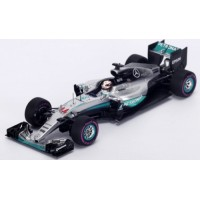 MERCEDES F1 W07 Hybrid  GP Monaco'16 #44, winner L.Hamilton