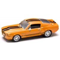 SHELBY 500 GT-E, 1967, orange/black stripes