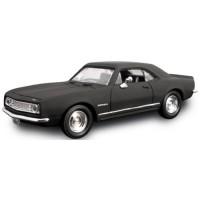 CHEVROLET Camaro Z-28, 1967, matt black
