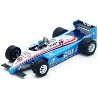 LIGIER JS19 GP Monaco'82 #26, J.Laffite
