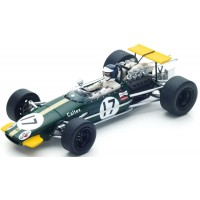 BRABHAM BT24 GP Germany'68 #17, K.Ahrens