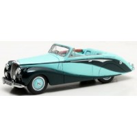 DAIMLER DB18 Empress Convertible, 1951, green/green