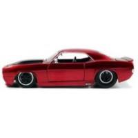 CHEVROLET Camaro, 1969, red/black stripes
