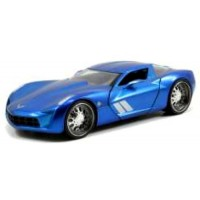 CHEVROLET Corvette Stingray Concept, 2009, blue