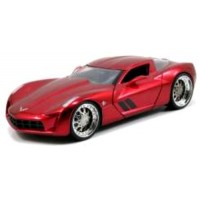 CHEVROLET Corvette Stingray Concept, 2009, red