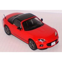 MAZDA MX-5 closed, 2013, red/black (limited 1008)