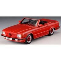 AMG R107 Roadster, 1980, red