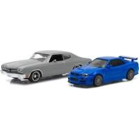 SET CHEVROLET Chevelle SS, 1970 & NISSAN Skyline GT-R, 2002