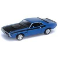 DODGE Challenger, 1970, blue/black