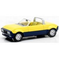 PEUGEOT 104 Peugette Pininfarina, 1976, yellow/blue