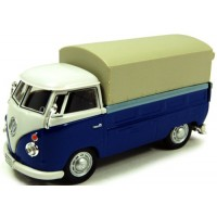 VOLKSWAGEN T1 Pick-up with tarpaulin, blue/white