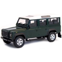 LAND ROVER Defender 110, d.green/white roof