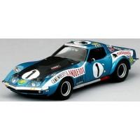 CHEVROLET Corvette 24h LeMans'71 #1, (ab) JC.Aubriet / JP.Rouget