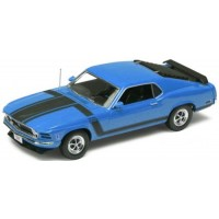 FORD Mustang BOSS 302, 1970, blue