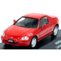 HONDA Civic Del Sol, 1992, red (limited 1008)