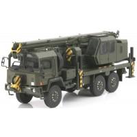 SAURER 10 DM Crane Gottwald Swiss Army, green