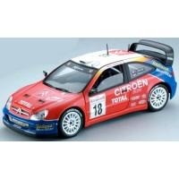 CITROËN Xsara WRC Rally MonteCarlo'03 #18, winner S.Loeb / D.Elena