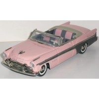 DESOTO Fireflite Covertible open, 1956 pink/grey