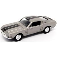 SHELBY GT 500 KR, 1968, silver