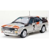 AUDI Quattro Rally Sweden'81 #2, winner Mikkola / Hertz
