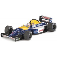 WILLIAMS FW14B GP SouthAfrica92, second R.Patrese