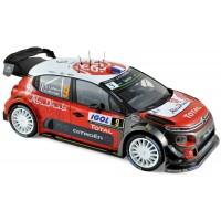 CITROËN C3 WRC Rally TourDeCorse'17 #9, S.Lefebvre / G.Moreau