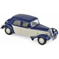 CITROËN Light 15, 1949, d.blue/cream