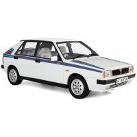 LANCIA Delta 1.6 HF Turbo, white/martini deco (limited 250)
