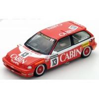 HONDA Civic EF3 Gr.3 Macau GuiaRace'88 #13, winner K.Shimizu (limited 300)