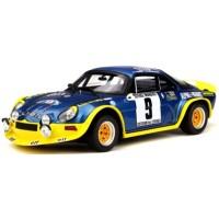 ALPINE A110 Turbo Rally Cévennes'72 #9, JL.Therier / M.Callewaert
