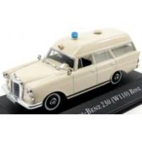 MERCEDES-BENZ 230 (W110) Binz Ambulance, 1966