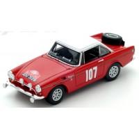 SUNBEAM Rally MonteCarlo'65 #107, 11th P.Turvey / A.Cowan