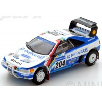 PEUGEOT 405 T16 Rally ParisDakar'89 #204, winner A.Vatanen / B.Berglund