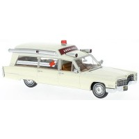 CADILLAC S&S Ambulance, 1966, white