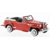 WILLYS Jeepster, 1948, red