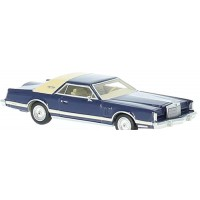 LINCOLN Continental Mk5, 1977, d.blue/beige