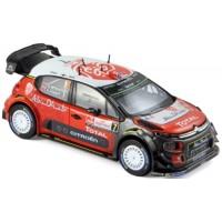 CITROËN C3 WRC Rally Poland'17 #7, A.Mikkelsen / A.Jaeger