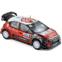 CITROËN C3 WRC Rally TourDeCorse'17 #8,C.Breen / S.Martin