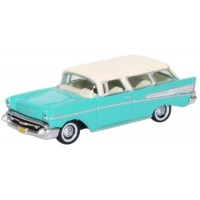 CHEVROLET Nomad, 1957, surf green/india ivory