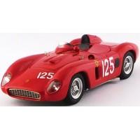 FERRARI 500 TR (Chassis #0650) SCCA LagunaSeca'57 #125, winner P.Lovlely