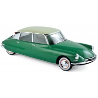 CITROËN DS 19, 1956, green/champagne