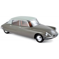 CITROËN DS 19, 1956, marron glacé/carrare white