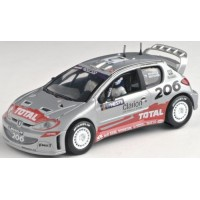 PEUGEOT 206 WRC Finland'02 #2, winner Grönholm