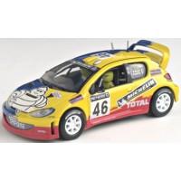 PEUGEOT 206 WRC GreatBritain'02 #46, V.Rossi / C.Cassina